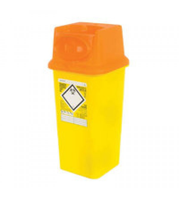 Sharps Bins, not contaminated (ORANGE LIDS)
