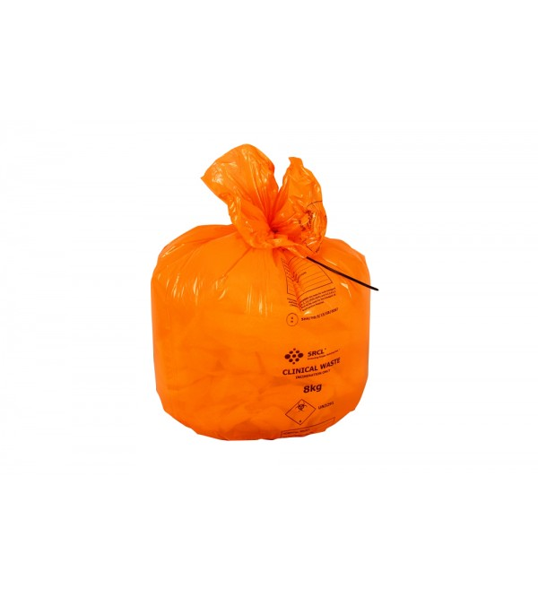 Clinical Waste Bags (ORANGE)