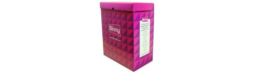 Binny Bins - Sanitary Bins