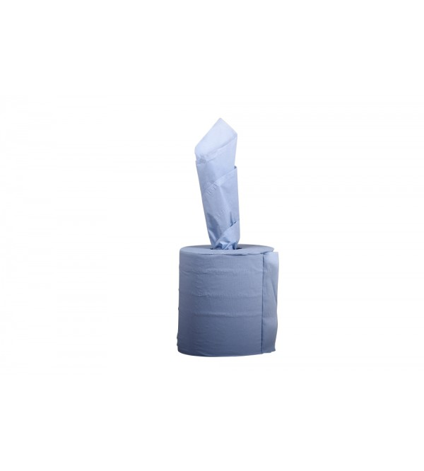 2 Ply Blue Centrefeed Paper Towel (pack of 6)