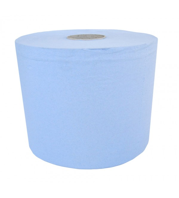 2 Ply Blue Bumper Roll Paper Towel (pack of 2)
