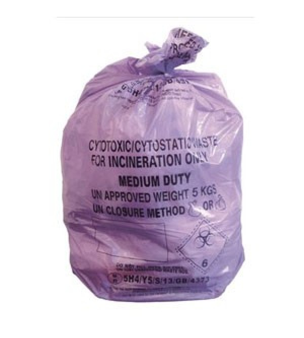 Cytotoxic Bags (Roll of 50 Bags)